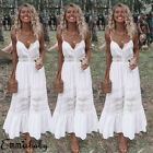 Emmababy Womens Long Maxi Dress Prom Evening Party Beach Boho Holiday Dresses