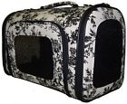 FRENCH TOILLE PRINT PET CARRIER