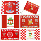 Liverpool FLAG Madrid League European Final Champions Kyiv 26 May 2018 Pin Kiev
