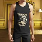 New TRIUMPH Engine MOTORCYCLE BIKER Tank Top S-5XL Shirt $26.43 CAD on eBay