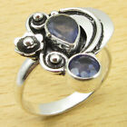 Your Choice ! PERIDOT & Other Gemstone Ring ! Silver Plated Over Solid Copper