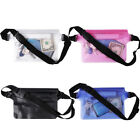 Waterproof PVC Clear Waist Pack Bag Travel Belt Bag Bum Hip Pouch Fanny Bag New