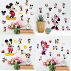 Cute Mickey Mouse Minnie Vinyl Wall Decals Sticker Kids Nursery Room Home Decor
