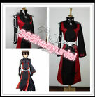 Anime Sousei no Onmyouji Enmadou rokuro battle suit costume cos