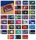 "NFL - Uniform Inspired Starter Rug Football Team Logo 19"" x 30"" $17.99 USD on eBay"