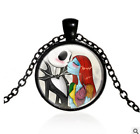 3/Color Newest Fashion Glass Nightmare Before Christmas Chain Necklace