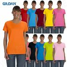Gildan Women's Short Sleeves Heavy Cotton 5.3 oz Missy Fit S-XL T-Shirt RG500L