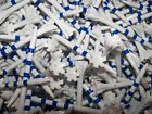 "NEW 3  1/4"" 3.25 Champ Zarma Flytees Blue White Striped Golf Tees"