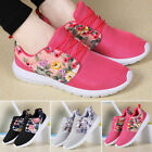 Fashion Women's Sneakers Floral Sport Breathable Casual Running Outdoors Shoes