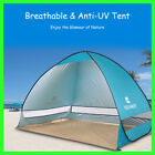 Portable Beach Pop up Tent Shelter Sun UV Shade Canopy Fishing Camping Picnic