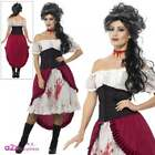 Ladies Jack The Ripper Slasher Victim Costume Victorian Halloween Fancy Dress
