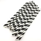 25pcs Twill Paper Straws Paper Drinking Straws Baby Shower Birthday Party Weddin