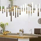 100 Pcs/set 2*2CM Acrylic Mirrored Decorative Sticker Wall Art DIY Decoration Mi
