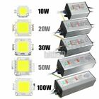 LED SMD Chip Bulb 10W/20W/30W/50W/100W LED Driver Supply Power Waterproof RS