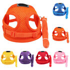Small Pet Dog Mesh Harness Lead Set Teacup Mini Puppy Chihuahua Rabbit Vest Toy