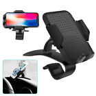 Car DashBoard Smartphone Holder Clip Car Phone Mount with 360 Degree Rotation US