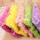 144pcs Artificial Fake Flowers Mini Foam Rose Bride Bouquet Party Wedding Decor
