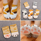 Womens Girls Summer Cartoon Cute Cats Paw Kitty Claws Ankle Short Socks Gifts
