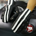 Motorcycle Gloves Full Finger Touch Screen Goatskin Leather Knight Glove New