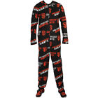 San Francisco Giants MLB Wildcard Mens Fleece Unionsuit Pajamas