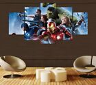 Marvel Avengers Superhero 5 Piece Childrens Kids Bedroom Can