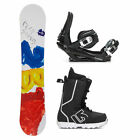 2B1 Play Red Fastplant Kids Complete Snowboard Package