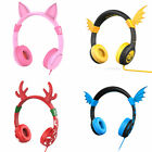 Volume Limiting Kids Headsets Boys Girls Headphones for Cell Phones Tablets DVD