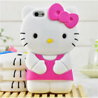 For iPod Touch 5 / 6 iPhone 3D Case Cover Cute Cartoon Animal Soft Silicone Skin