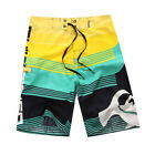 Men's Surf Board Shorts Summer Beach Shorts Pants Swiming Trunks Swimsuit 30-38