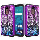 For LG Stylo 4| Q Stylus| Stylo 4 Plus Diamond Bling Phone Case Cover Dual Layer