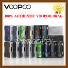 AUTHENTIC VOOPOO1 DRAG 157W TC Gene Chip Mod - Black/Silver Frame Resin/Carbon