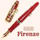 Aurora Special Edition Firenze Ag925 Sterling Silver Vermeil 18K Fountain Pen