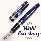 Wahl Eversharp The Magnificent Seven Oversize Celluloid Ice Blue Fountain Pen