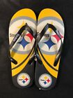 Forever Collectibles NFL Pittsburgh Steelers Unisex Flip Flop Sandal