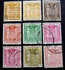 NEW ZEALAND 1931-58 FISCAL STAMPS AS SEEN F191-6/155/202-03 ??? C£55.90   USED