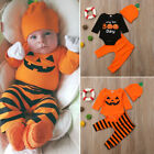 US Halloween Newborn Baby Boy Romper Jumpsuit Bodysuit Pants