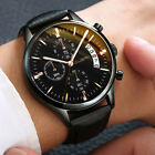 Men Sport Date Stainless Steel Military Analog Quartz Army Wrist Watch Nice New image
