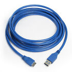 Short/Long Micro USB 3.0 Cable A to Micro B Cable fr Seagate Goflex Back Up Plus