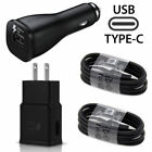 For BlackBerry Phones OEM Adaptive Fast Car+Home Adapter & 2 Type_C Cables