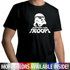 Star Wars Stormtrooper Support Our Troops Unisex Crew Neck Cotton Tee T-Shirt $17.21 USD on eBay