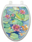 Toilet Tattoos Themes Lily Pad Toilet Seat Decal
