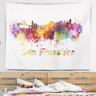 East Urban Home Cityscape San Francisco Skyline Tapestry