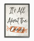 Gracie Oaks 'Its All About the Candy Old Fashioned Illustration' Textual Art