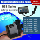 2000-12000 L/H Aquarium Adjustable Water Submersible Pump Fish Tank Pond DC 24V