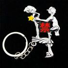 8 Actions Sex Position Vintage  Key Chain Rings HAPPY Couples Gift MAN Keyring.