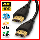 Ultra Slim High Speed HDMI Cable 2.0 HDTV Ethernet 4K x2K 3D Audio Return Lot