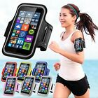 Sports Running Armband Mobile Case Phone Pouch Bag with Key Holder Earphone Hole