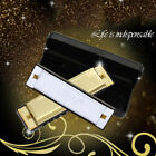 Harmonica 10 Holes Key 20 Tone Blues Metal of C with Case For Beginners Gift
