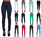 WOMENS HIGH WAIST PLUS SIZE SKINNY JEANS LADIES JEGGINGS PANTS size 10-22