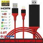 New Lightning to HDMI Lead TV AV Adapter 2m Cable iPad iPhone X 6 7 8 Plus
